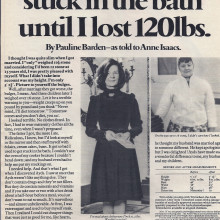 Woman and Home, September 1972, press ad selection
