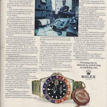 Long copy ad for Rolex – 1971