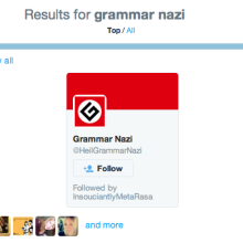 Why I hate grammar nazis
